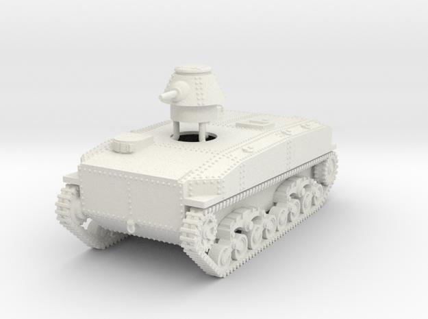 1/48 SR-I I-Go amphibious tank in White Natural Versatile Plastic