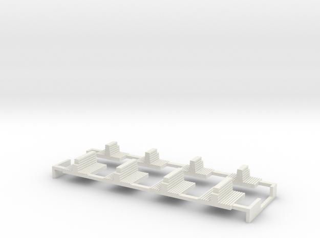 G2 offene Plattform Inneneinrichtung in White Natural Versatile Plastic