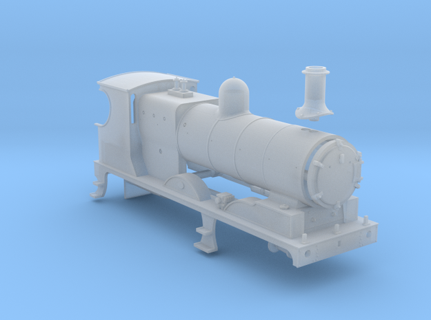 L&YR Class 28 (657) - (FUD) in Smooth Fine Detail Plastic