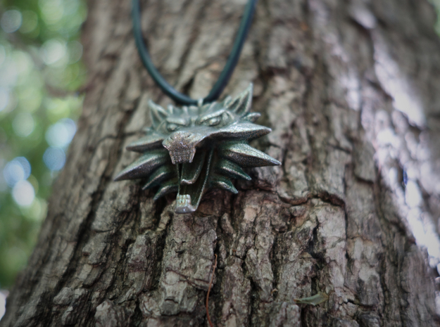 Witcher Medallion 3d printed