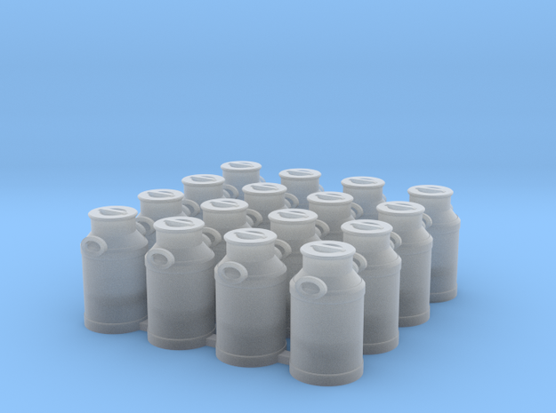 16 melkbussen spoor 0 in Smooth Fine Detail Plastic