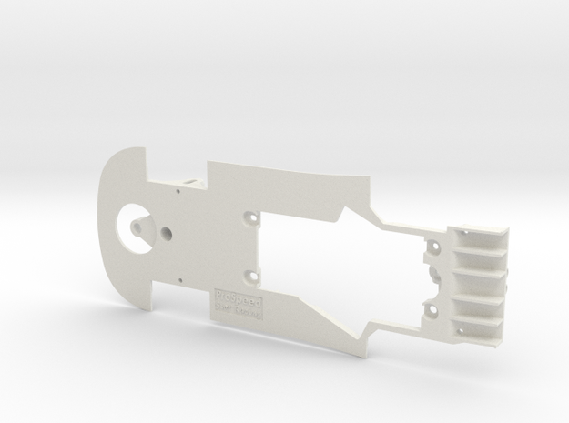 PSNI00301 Chassis for Ninco Ford GT GT3 in White Natural Versatile Plastic