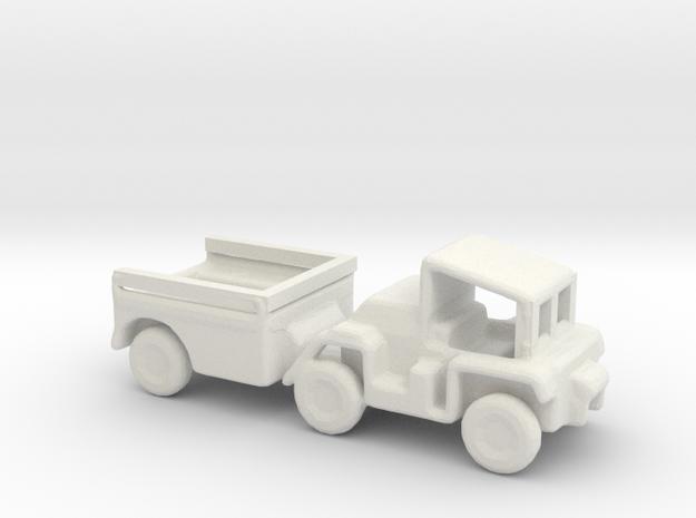 1/200 Scale M561Gama Goat in White Natural Versatile Plastic