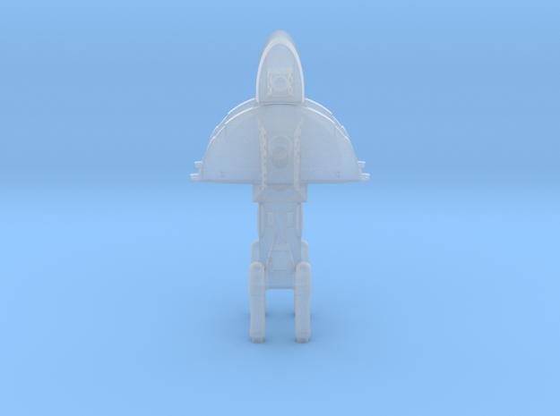 Unionist Destroyer (x2) in Smooth Fine Detail Plastic