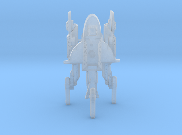 Unionist Frigate (x3) in Smooth Fine Detail Plastic