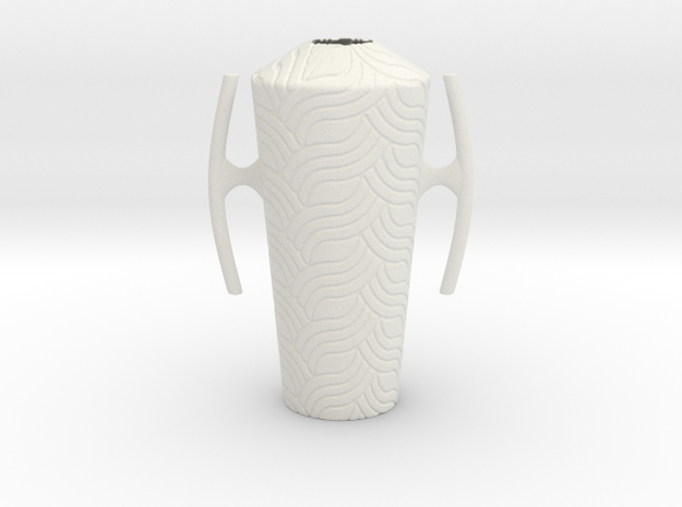 Vase 114CA in White Natural Versatile Plastic