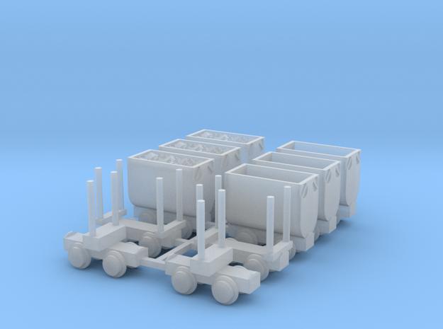 Grubenbahn Set1 - TTf 1:120