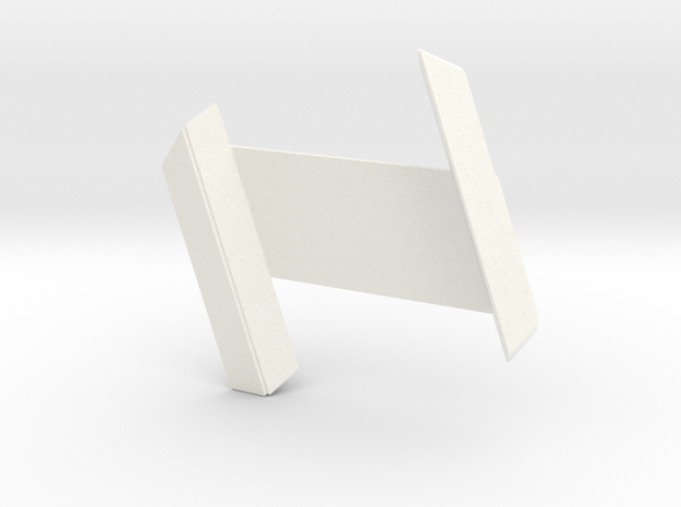 RDS Interlock - Standard (solid) in White Processed Versatile Plastic