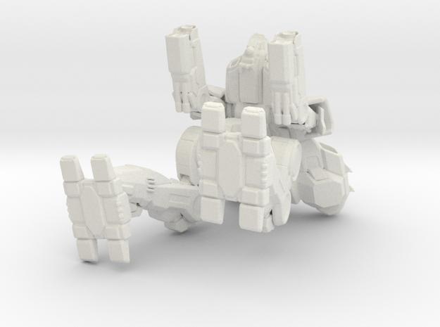 Marauder in White Natural Versatile Plastic