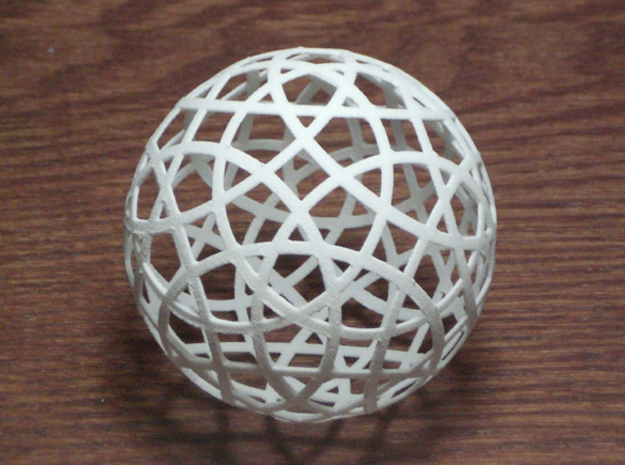 Stripsphere20 in Smooth Fine Detail Plastic