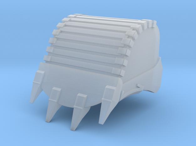 Felslöffel 3 m³ für Liebherr 970SME und Herpa 954C in Smooth Fine Detail Plastic