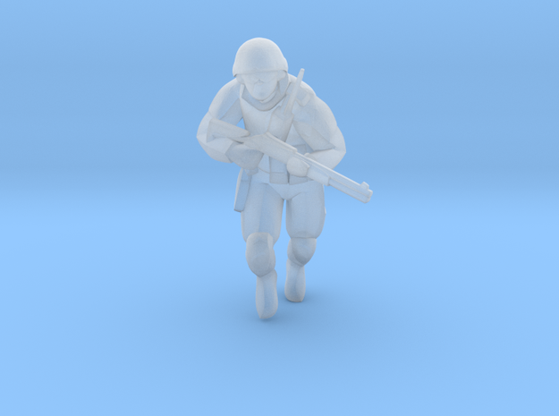 Soldier-sq-7 in Smooth Fine Detail Plastic