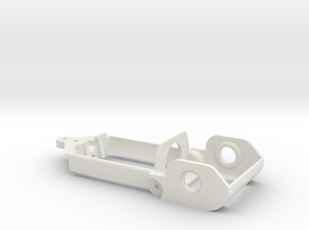 """D16 old motor holder """"back to '60"""" chassis in White Natural Versatile Plastic"""