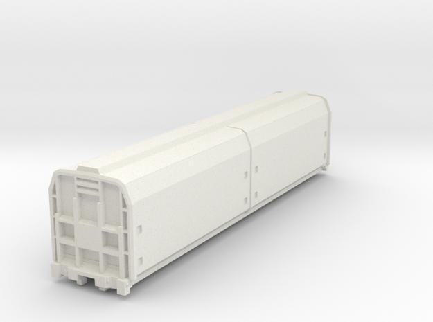 1:76 Scale NZR Zh Class in White Natural Versatile Plastic