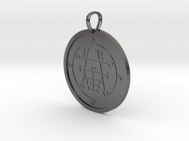 Ipos Medallion in Polished Nickel Steel