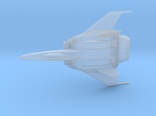 Heavy Assault Fighter in Smoothest Fine Detail Plastic
