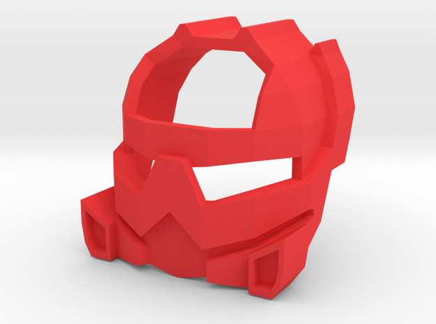 ruru in Red Processed Versatile Plastic