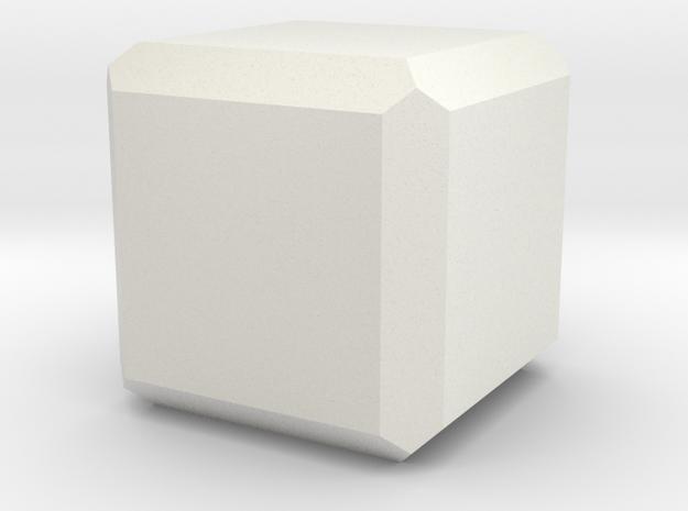 Spinel 2 in White Natural Versatile Plastic