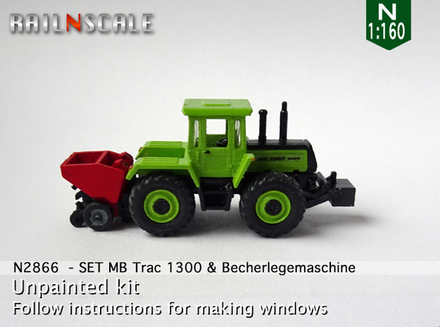 SET MB Trac 1300 & Becherlegemaschine (N 1:160)