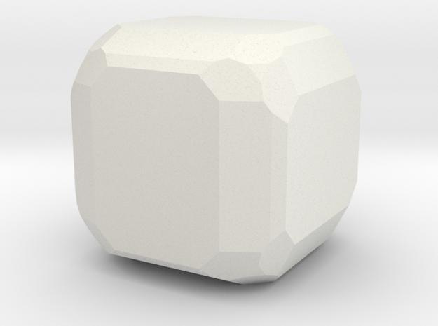 Pyrite 3 in White Natural Versatile Plastic