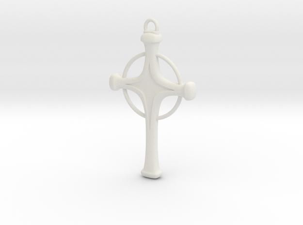 Uryu's Quincy Cross - Halo.ver in White Natural Versatile Plastic