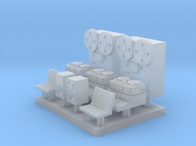 1-87 Scale Nagra Kudelski - Audio Mixer Setup in Smoothest Fine Detail Plastic