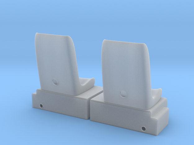 1.20 MD500 SEATS in Smooth Fine Detail Plastic
