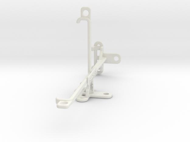 OnePlus 6T tripod & stabilizer mount in White Natural Versatile Plastic