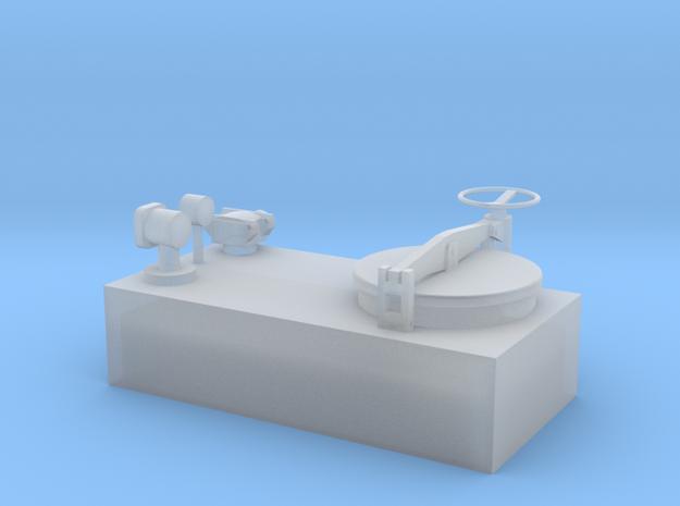 Tankdom für Binnenschiffe in Smooth Fine Detail Plastic: 1:50