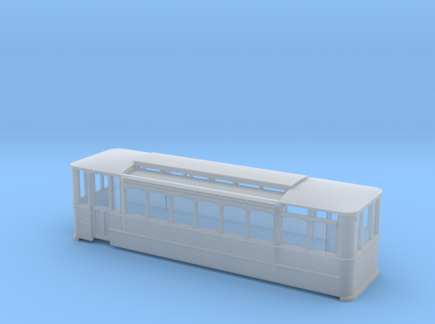 Southampton Demicar 50 (4mm) in Smooth Fine Detail Plastic
