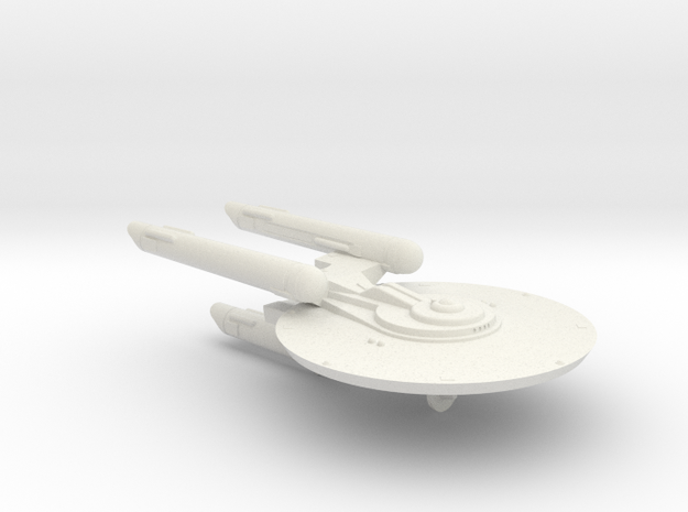 3125 Scale Fed Classic New Heavy Cruiser (NCA) WEM in White Natural Versatile Plastic