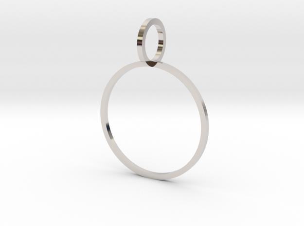 Charm Ring 19.84mm in Platinum