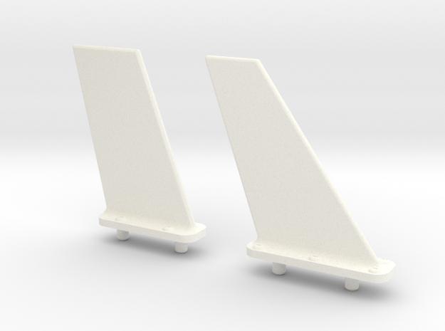 1.4 F104 COMBO ANTENNES in White Processed Versatile Plastic