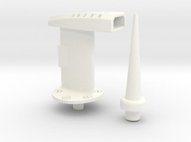 1.4 BAE HAWK PITOT KIT in White Processed Versatile Plastic