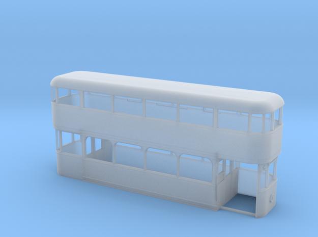 Sunderland Tram 45 ex-Portsmouth 1 (4mm) in Smooth Fine Detail Plastic