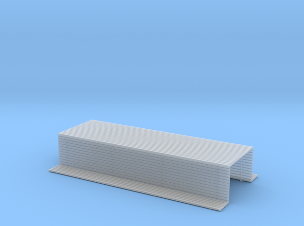 Chassis cover Z scale in Smooth Fine Detail Plastic
