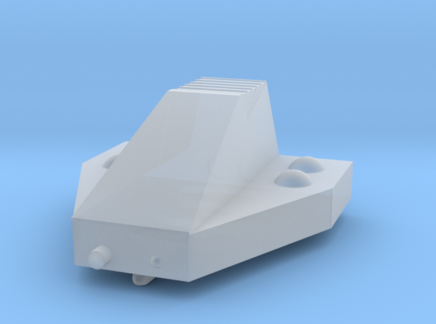 Ferret Tiny Grav Assault Sled Skids Down 25mm in Smoothest Fine Detail Plastic