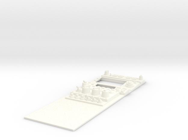1.3 SUKHOI COCKPIT (A) in White Processed Versatile Plastic