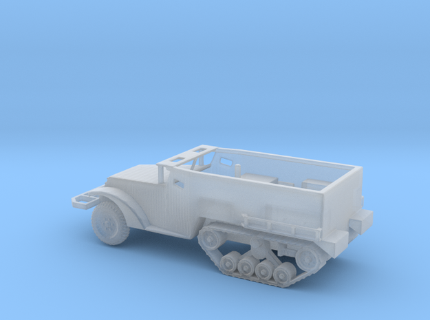 1/160 Scale M2A1 Halftrack in Smooth Fine Detail Plastic