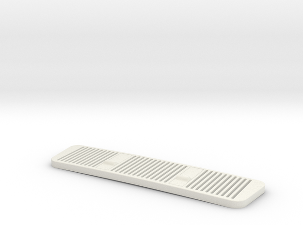 SPRC Hood Grill for SNAKEPIT RC G-Class Hood in White Natural Versatile Plastic