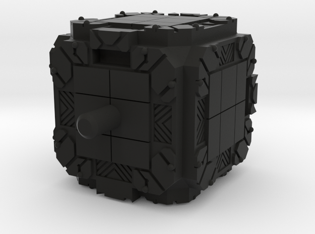 So-Do Pandora Box - Bottom Peg in Black Natural Versatile Plastic
