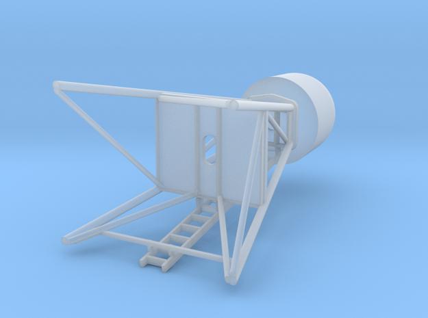 Satcom mast in Smooth Fine Detail Plastic