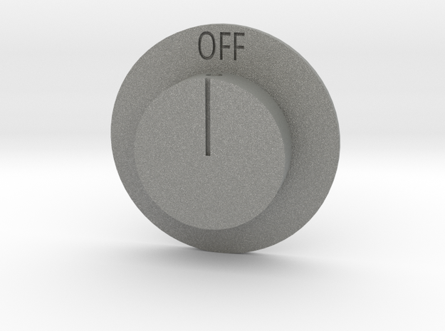 Quad 22 Volume Control in Gray PA12