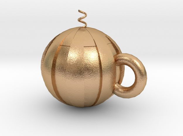 watermelon cup in Natural Bronze