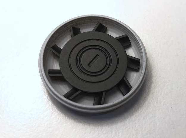 Perfect Grade Falcon, 1:72, static fans in Smooth Fine Detail Plastic