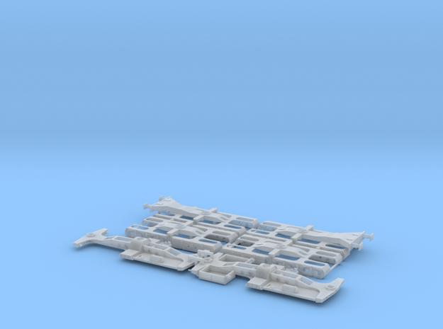 Torpedopfannenwagen Version B Teil 2 in Smooth Fine Detail Plastic