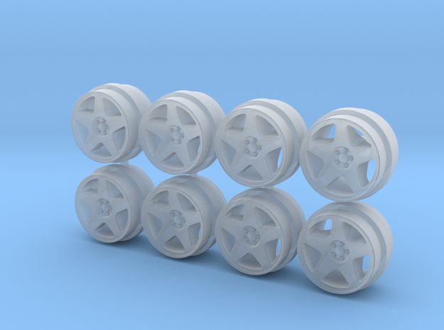 Tarmac 8-6 Hot Wheels Rims in Smoothest Fine Detail Plastic