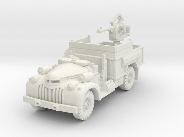 Chevrolet 30cwt Breda scale 1/100 in White Natural Versatile Plastic
