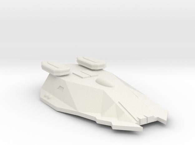 3125 Scale Zosman Frigate (FF) MGL in White Natural Versatile Plastic