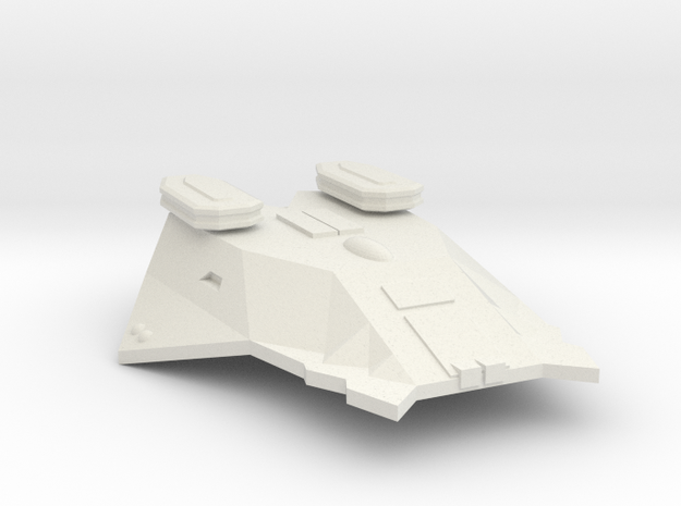 3125 Scale Zosman Destroyer (DD) MGL in White Natural Versatile Plastic